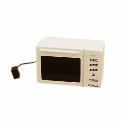 Family Kitchen Cooking Microwave Oven - 1;12 Dollhouse Miniature Accessorie Y5S5