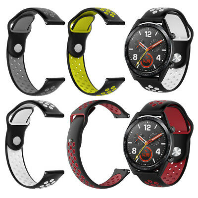 Silicone Bracelet Replacement Strap Band for Huawei Magic/Watch GT/Ticwatch Pro