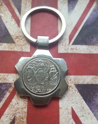 "Alphabet A-Z 10p-""X""Ten Pence Coins+Key Ring-Uncirculated-2018 ""X""MARKS THE SPOT"