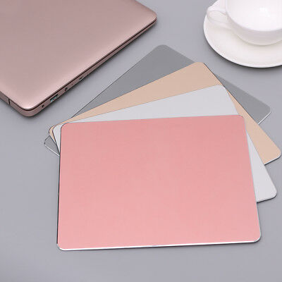Aluminum Alloy Mouse Pad Metal Ultra Thin Gaming Mice Mat For PC Laptop Book