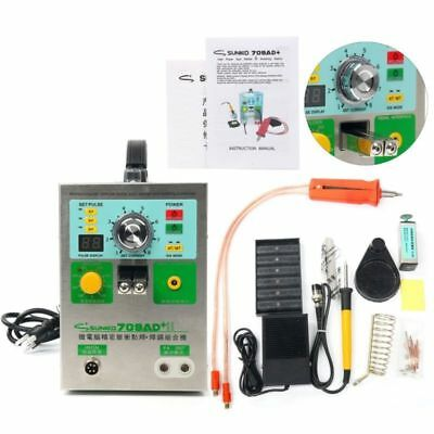 SUNKKO 709AD+ Battery Pulse Spot Welder For 18650 + 70B Welding Pen