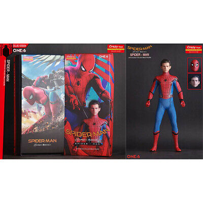 """Crazy Toys Marvel Homecoming Spider Man Fighting 12"""" Action Figure Statue Model"""