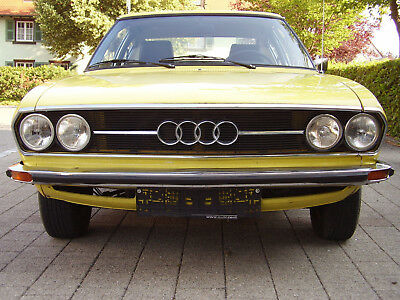 ▀▄▀▄▀▄▀▓▒░   Audi 100 Coupé S  *HU 04/2020*  the YELLOW race(r)   ▀▄▀▄▀▄▀▓▒░