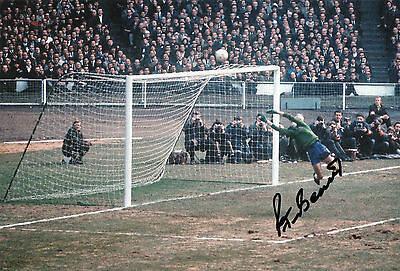 PETER BONETTI Signed 12x8 Photo CHELSEA & ENGLAND Legend COA