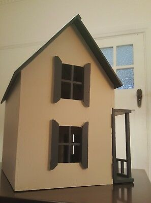 Handmade Vintage Wooden Doll House Or Use As A Book Case For Girls & Boys
