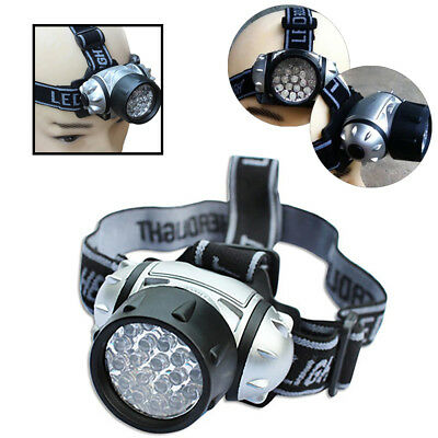 12LED Ultra Bright Head Light Torch Lamp Camping Hiking Fishing Light Head Strap