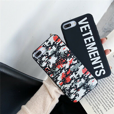 Fashion Art Design Camouflage Letters Glossy Soft Case Cover For Apple iPhone XS
