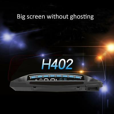H402 Intelligent Projector Car Speed Head-Up Holder Display Multi-Function HUD