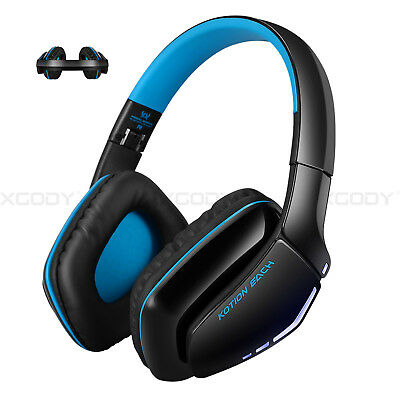 Wireless Stereo Gaming Headset Bluetooth Headphones with Mic for XBox one X PS4