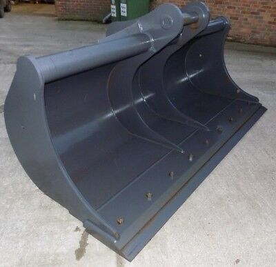 Miller 96 Inch/8Ft Ditching Bucket With Blade On 90 Mm Pins/free Uk Delivery Inc
