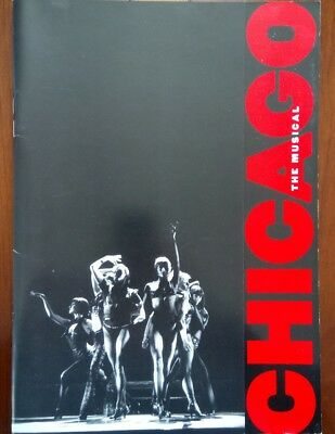 """""""chicago - The Musical""""/adelphi Theatre Programme And Brochure / London Nov 1999"""