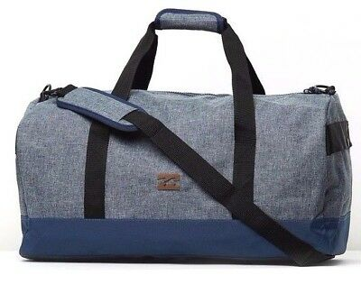 Billabong Transit Duffle Travel Overnight Gym Bag, 50L. NWT. RRP $69-99.