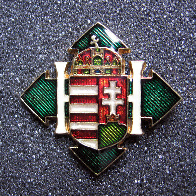 Coat of arms of Hungary 1944-45 Badge