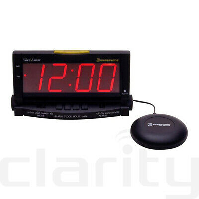 Clarity Wake Assure Loud Buzzer Alarm Clock