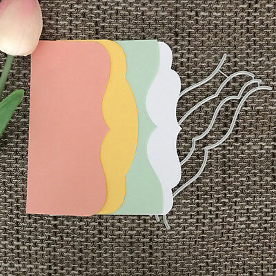 Cover Design Metal Cutting Die For DIY Scrapbooking Album Paper Card   ^S