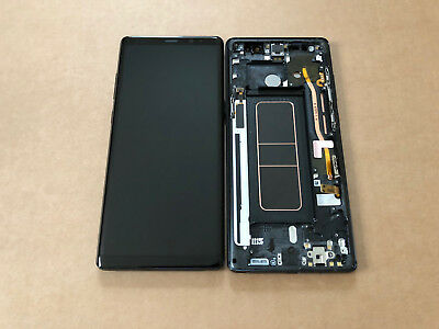 Genuine Samsung Galaxy Note 8 N950f LCD Touch Screen Display Digitizer + Frame