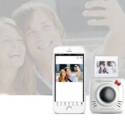 Pocket Professional Wireless Bluetooth Phone Instant Photo Printer For iPhone UR