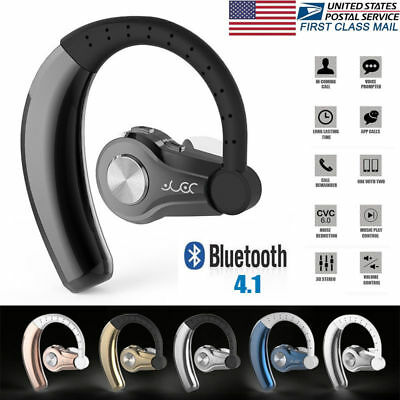 Wireless Earbuds Bluetooth V4.1 In-Ear Earbuds Headphones for iPhone & Android