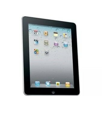 iPad 1st Gen A1219 32GB WiFi,  Black Apple Tablet, One Crack On Touchscreen
