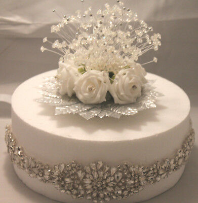 Wedding Cake Decorations & Topper  ****bling Bling Bling**** Diamante & Crystals