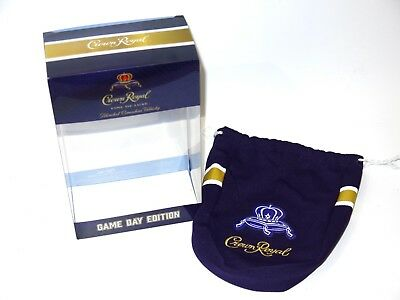 Crown Royal  LIMITED EDITION 2018 Game Day Bag and Box NEW