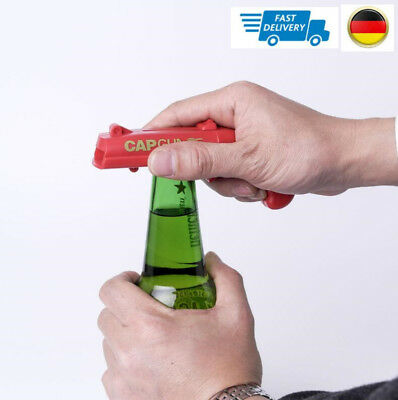 Shooter Bottle Opener Gun Beer Soda Cola Glass Jar Opening Tool Toy Gifts New