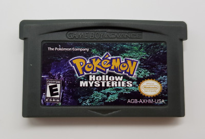 Pokemon HOLLOW MYSTERIES Game Boy Advance GBA English Play Now ! (black)