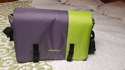 Eddie Bauer Portable Baby Travel Bed Diaper Bag Changing Station
