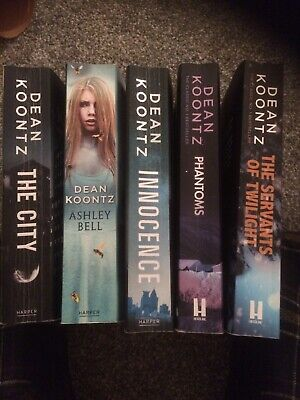 Two Dean Koontz Books The City And Ashley Bell From 2015/2016