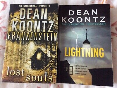 Dean Koontz Two Books From The Great Frankenstein Series