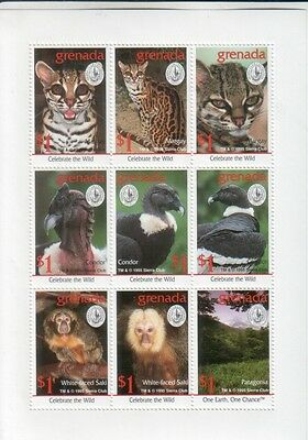 Grenada 1995 Sierra Club 9val Animals Tiere