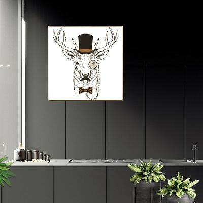 Animal Deer Canvas Art Poster Print Living Room Wall Picture Home Decor Gift