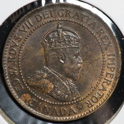1902 Canada One Large Cent 1C Coin - #2
