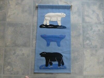 Inuit Tapestry Wall Hang