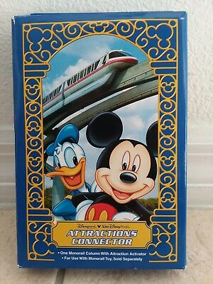 Disney World ATTRACTIONS CONNECTOR; MONORAIL COLUMN WITH ATTRACTION ACTIVATOR -1