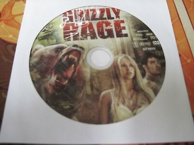 Grizzly Rage (DVD) Disc Only