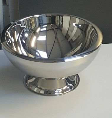 3-Gallon Stainless Steel Doublewall Punch Bowl BRAND NEW ITEM PUB/BAR/MANCAVE