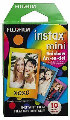Fujifilm Film Instax Mini 8 & 9 Polaroid - Rainbow
