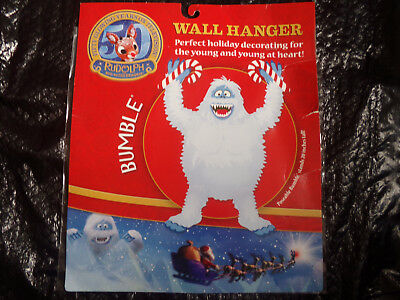 NEW in Package Rudolph Poseable Bumble Wall Hanger 50th Anniversary