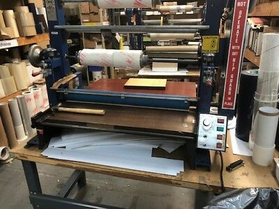 laminator for rolls or sheets, no heat, one speed, 30inch width