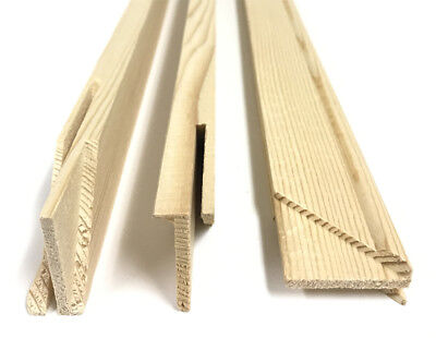 "Art Canvas Stretcher Bars, Stretching Strips - Set of 2 - 8"" 10"" 12"" 18"" 24"" 36"""