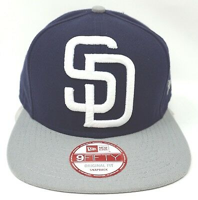 6e2cc746 NWT NEW ERA San Diego PADRES SD 9FIFTY SNAPBACK adjustable mlb cap ...