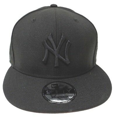 8e7f162b7 New York YANKEES Snapback Cap MLB NEW ERA 9FIFTY 100%Wool Adult Hat OSFM