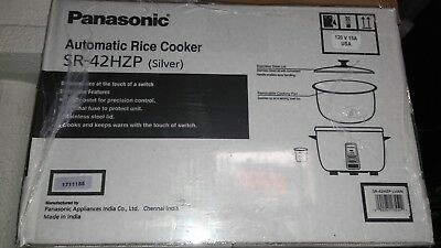 Panasonic SR-42HZP Electric 23 Cup Rice Cooker Commercial w/ Auto Shut-Off