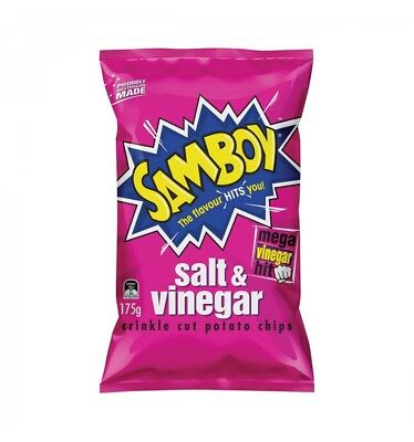 Samboy Salt & Vinegar 175g