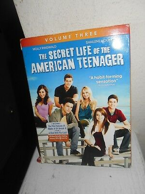 The Secret Life Of The American Teenager: Volume 3 New Sealed DVD Free Shipping