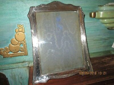 Arts & Crafts Large Silver Photo Frame 1914 Griffiths & Co.