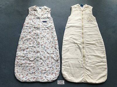 Two Cosy Grobags Sleeping Bags, 2.5 Tog, 6 - 18 Months