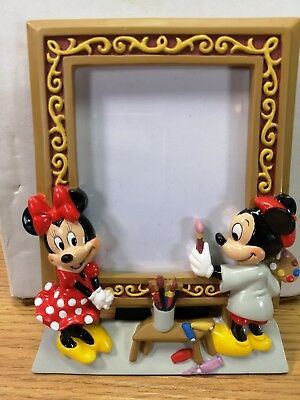 Disney 3D Mickey & Minnie Mouse Picture Photo Frame (d5b)