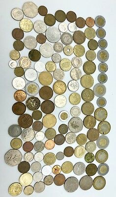Mixed Lot World / FOREIGN COINS, Many Countries! Vintage To Now